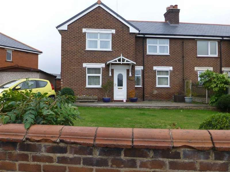 3 Bedrooms Semi Detached House for sale in Bluebell Estate, Wrexham