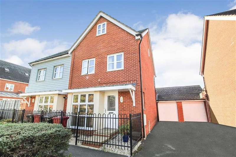4 Bedrooms Semi Detached House for sale in Dariel Close, Slough, Berkshire