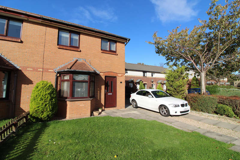 3 Bedrooms Semi Detached House for sale in Forge Road, Ayr, KA8