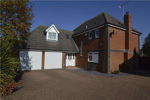 5 Bedrooms Detached House for sale in Crofton Fields, Winterbourne, BRISTOL, BS36 1NZ