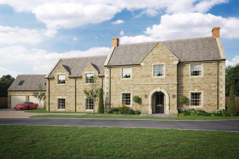 5 Bedrooms Detached House for sale in Groveland House, Woodstock Road, Charlbury, Chipping Norton, Oxfordshire