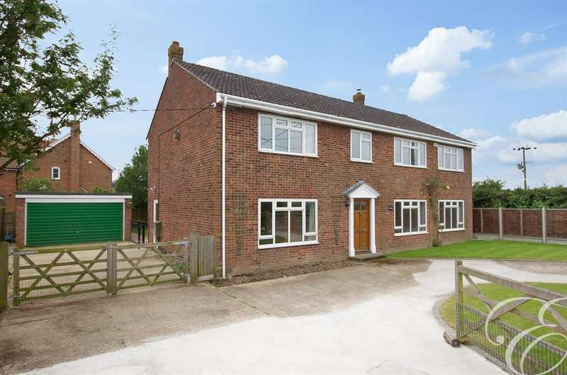5 Bedrooms Detached House for sale in Steam Mill Road, Bradfield, Manningtree