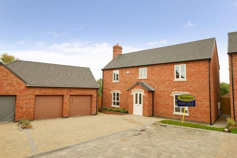 5 Bedrooms Detached House for sale in William Ball Drive, Horsehay, Telford, Shropshire, TF4 2SQ