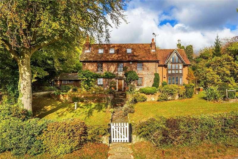 5 Bedrooms Detached House for sale in Hogtrough Hill, Brasted, Westerham, Kent