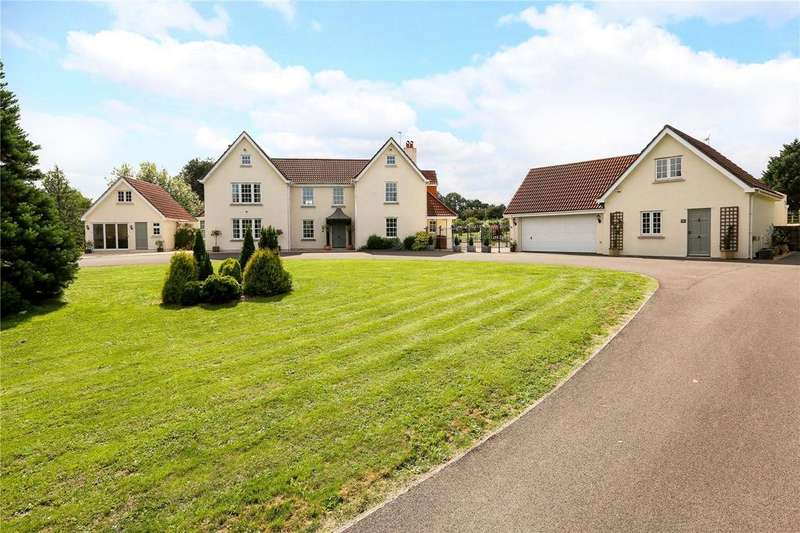 6 Bedrooms Detached House for sale in Happerton Lane, Easton-in-Gordano, Bristol, BS20