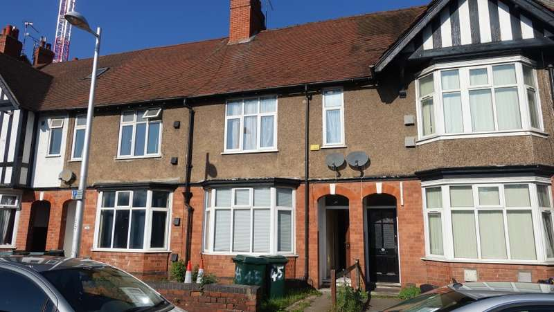6 Bedrooms Terraced House for sale in 45 St. Patricks Road, City Centre, Coventry