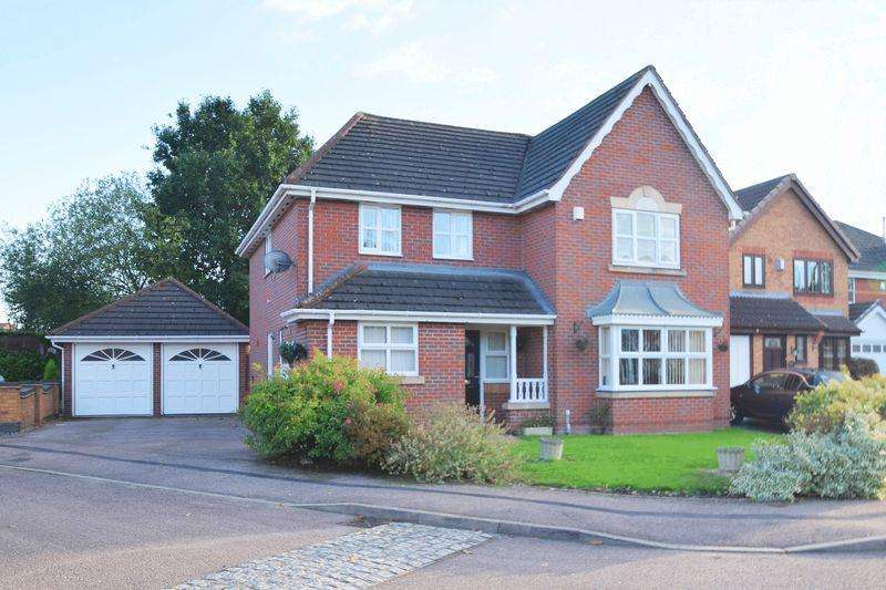 5 Bedrooms Detached House for sale in Redbourn Road, Turnberry Estate, Walsall