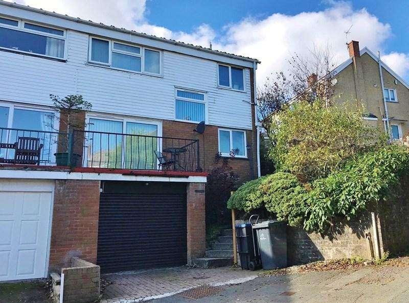 3 Bedrooms Semi Detached House for sale in Glanheulog, Brynmawr, Ebbw Vale