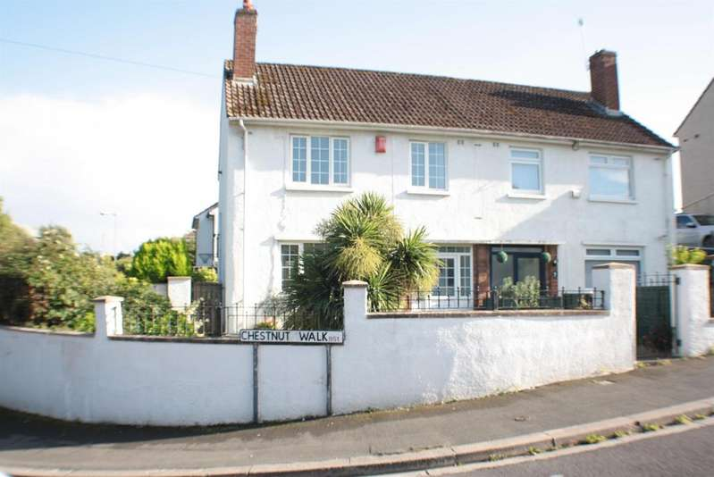 3 Bedrooms Semi Detached House for sale in Chestnut Walk, Headley Park, Bristol