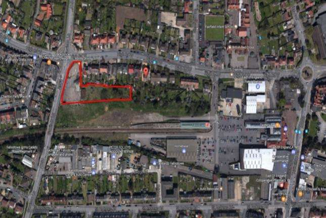 Residential Development Commercial for sale in Site at Junction of Garrison Lane High Road West, Felixstowe, Suffolk, IP11 9JD