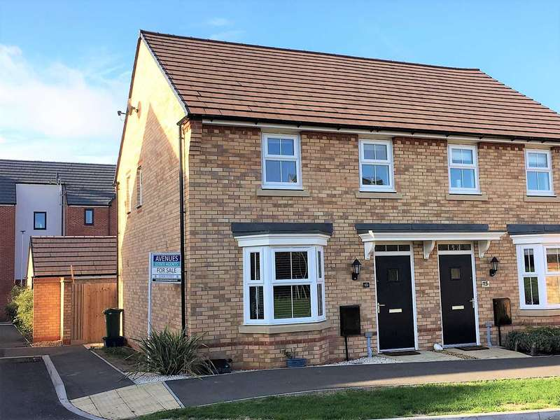 3 Bedrooms Semi Detached House for sale in Bacchus Lane, Fairfields, Milton Keynes