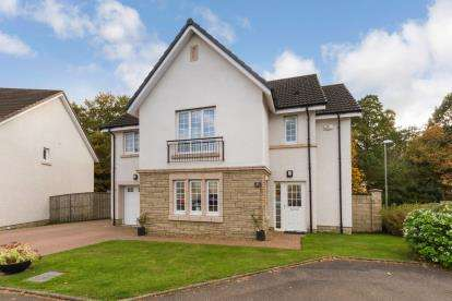 4 Bedrooms Detached House for sale in Heron View, Motherwell