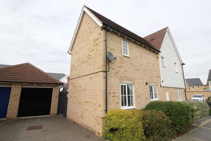 4 Bedrooms Detached House for sale in Lungley Rise, Colchester, Essex, CO2