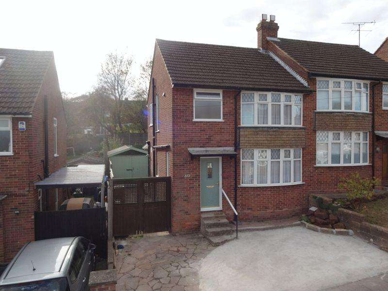 3 Bedrooms Semi Detached House for sale in Hillary Crescent.