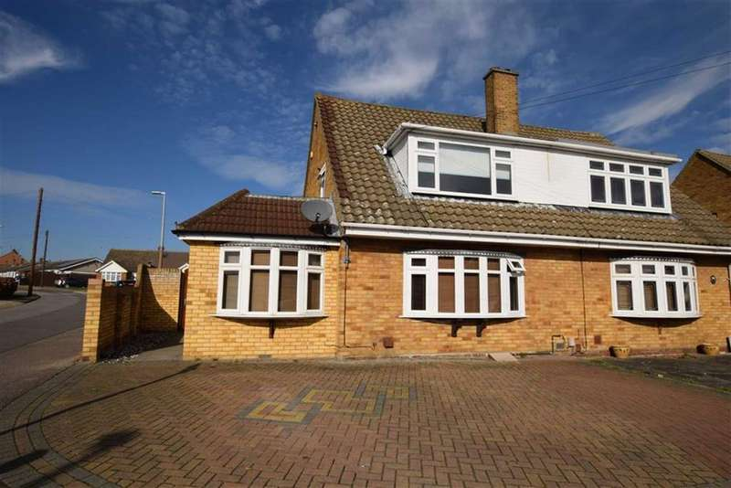 4 Bedrooms Semi Detached House for sale in Goldsmith Avenue, Corringham, Essex