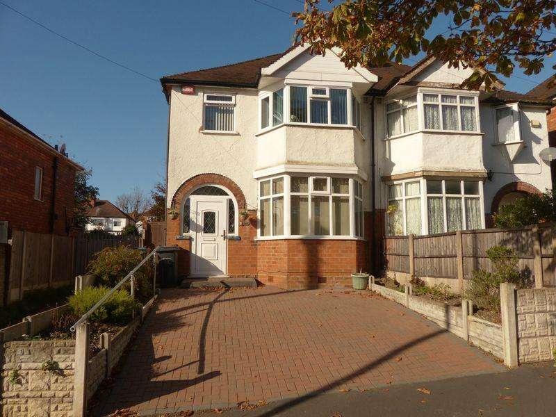 3 Bedrooms Semi Detached House for sale in Kingstanding Road, Kingstanding, Birmingham