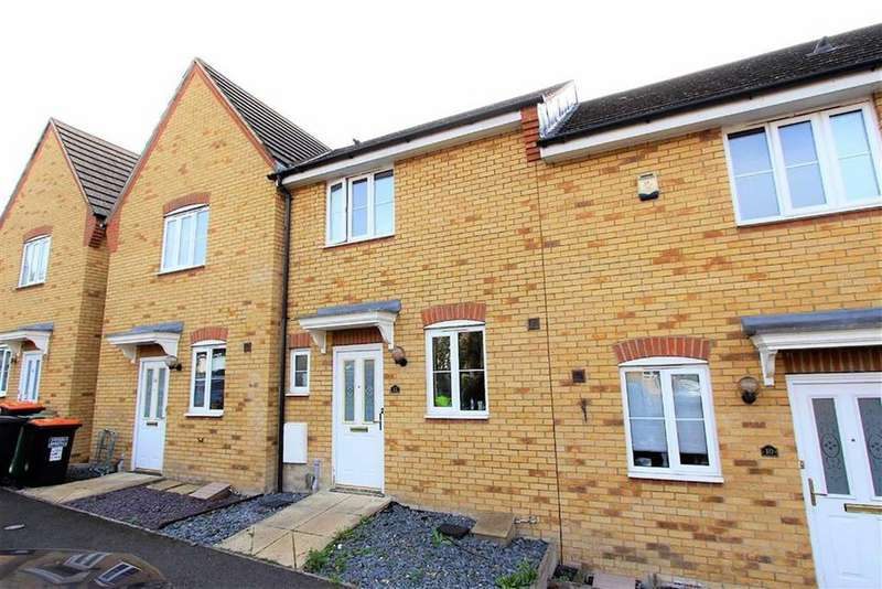 2 Bedrooms Terraced House for sale in Deverell Way, Leighton Buzzard