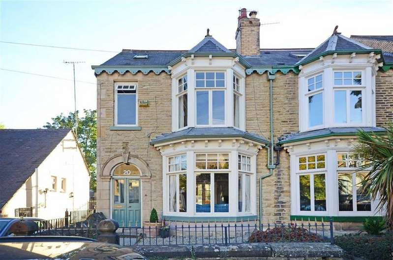5 Bedrooms Semi Detached House for sale in Endcliffe Terrace Road, Endcliffe, Sheffield, S11