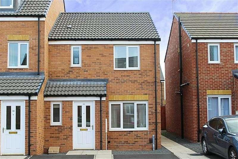 3 Bedrooms Semi Detached House for sale in Hoskins Lane, Middlesbrough