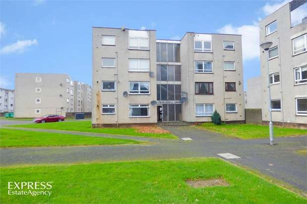 2 Bedrooms Flat for sale in Russell Drive, Ayr