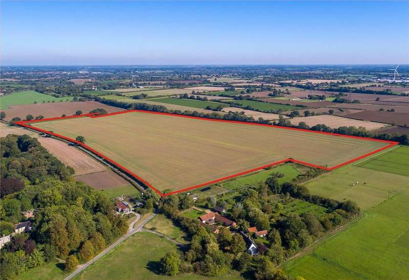 Land Commercial for sale in Land at Thrandeston Road, Yaxley, Eye, Suffolk, IP23