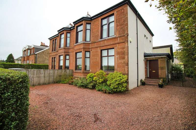 4 Bedrooms Semi Detached House for sale in 136 Glasgow Road, STRATHAVEN, ML10 6NL