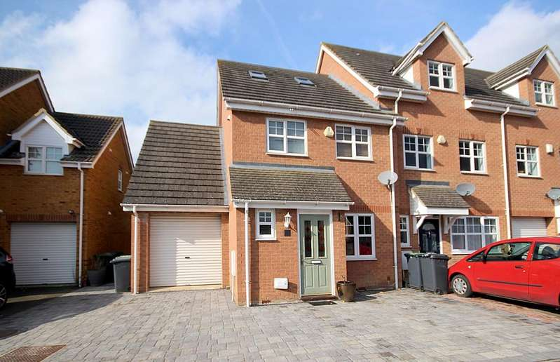 4 Bedrooms End Of Terrace House for sale in The Hermitage, Arlesey, SG15
