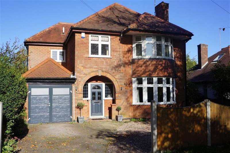 4 Bedrooms Detached House for sale in Darley Park Drive, Darley Abbey, Derby