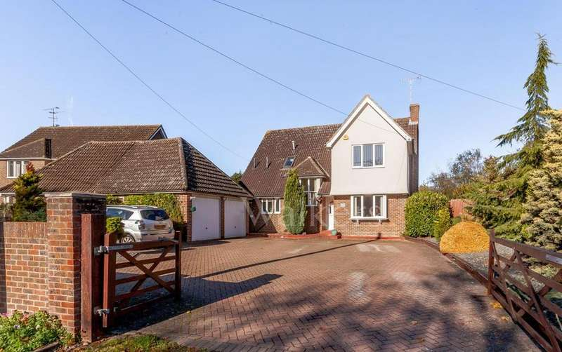 4 Bedrooms Detached House for sale in Roman Road, Ingatestone