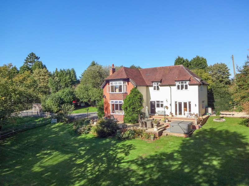 4 Bedrooms Detached House for sale in Tutnall Lane, Tutnall, Bromsgrove, B60 1NA