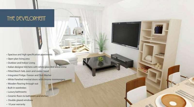 2 Bedrooms Apartment Flat for sale in Flat 23 On Park, Stoke Poges Lane, Slough, SL1