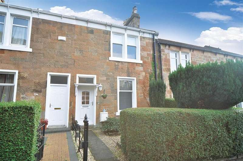 2 Bedrooms Terraced House for sale in 52 Kilmailing Road, Old Cathcart, G44 5UJ