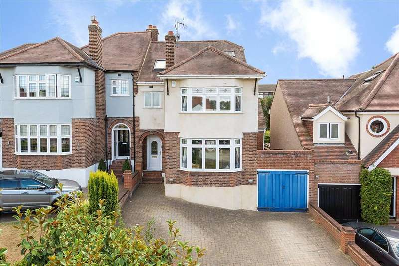 5 Bedrooms Semi Detached House for sale in Waldegrave Gardens, Upminster, RM14