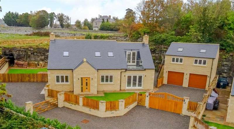 5 Bedrooms Detached House for sale in 5 Middleham View, Harmby, Near Leyburn, North Yorkshire, DL8