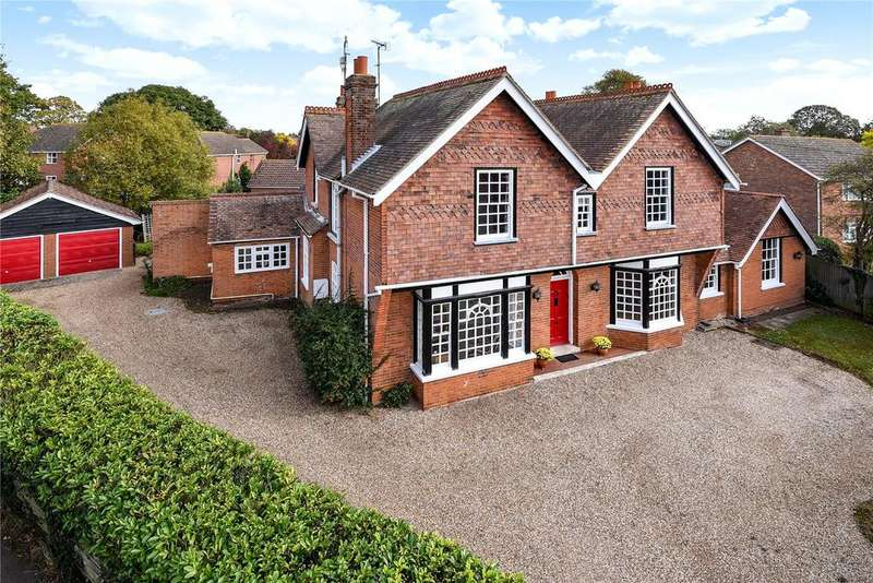 5 Bedrooms Detached House for sale in The Street, Holbrook, Ipswich, IP9