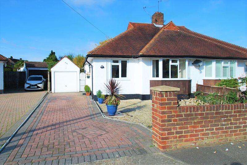 2 Bedrooms Semi Detached Bungalow for sale in Whitehall Crescent, Chessington