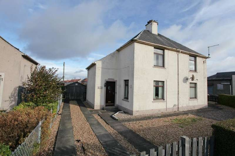 2 Bedrooms Semi Detached House for sale in Dundonald Park, Cardenden