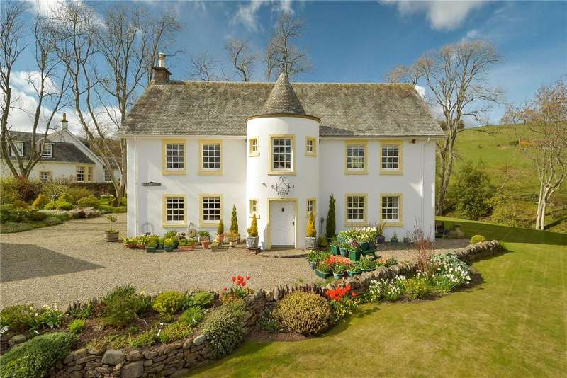 4 Bedrooms Detached House for sale in Blenkiron, Fowlis Wester, Crieff, Perthshire, PH7