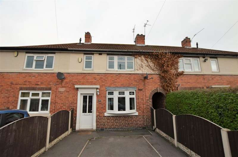 3 Bedrooms Terraced House for sale in Sims Avenue, Derby