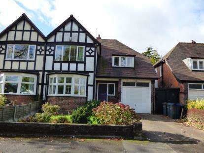 4 Bedrooms Semi Detached House for sale in Grove Road, Kings Heath, Birmingham, West Midlands