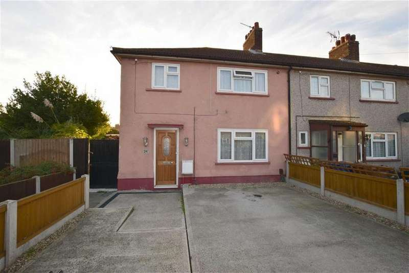 3 Bedrooms End Of Terrace House for sale in Tennyson Walk, Tilbury, Essex