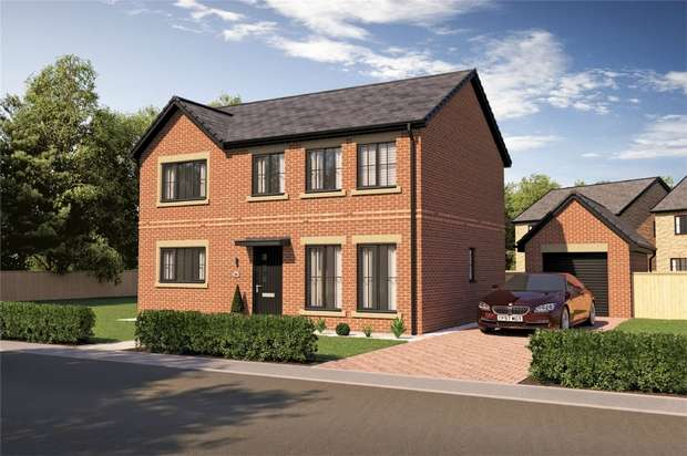 4 Bedrooms Detached House for sale in LAUNCH WEEKEND 23RD 24TH FEB - THE SLALEY, Salters Lane, Sedgefield, Durham