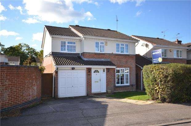 4 Bedrooms Detached House for sale in Beedon Drive, Bracknell, Berkshire