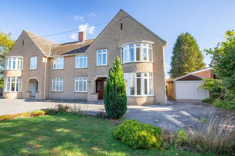 4 Bedrooms Semi Detached House for sale in Somerton Road, Street