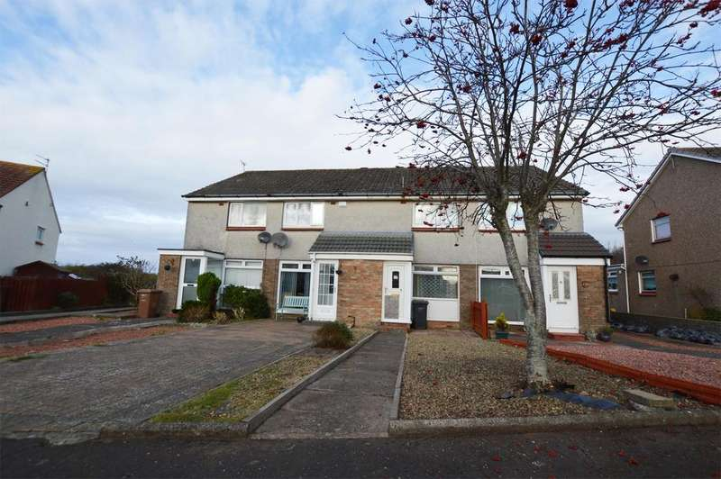 2 Bedrooms Terraced House for sale in 24 Island View, ARDROSSAN, KA22 7PL