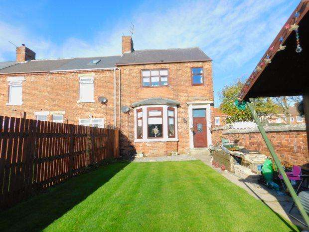 3 Bedrooms Terraced House for sale in MILBANK TERRACE, SHOTTON, PETERLEE AREA VILLAGES