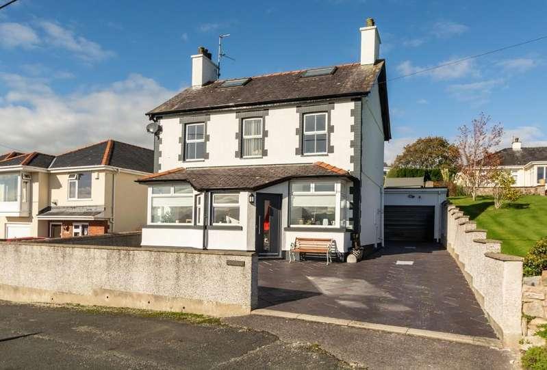 5 Bedrooms Detached House for sale in Lon Ganol, Llandegfan, North Wales