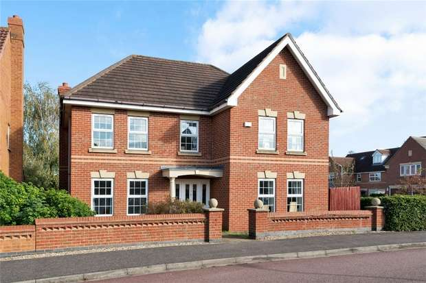 5 Bedrooms Detached House for sale in Bayham Close, Elstow, Bedford