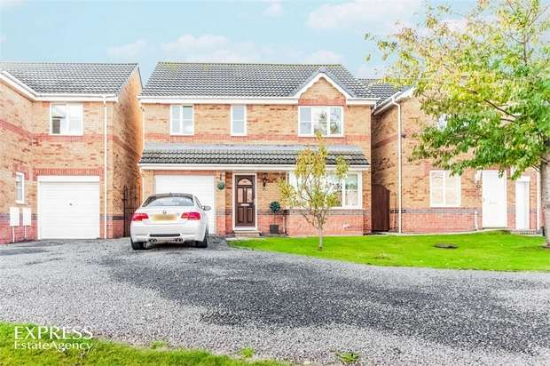 4 Bedrooms Detached House for sale in Hazel Dene Way, Seaham, Durham