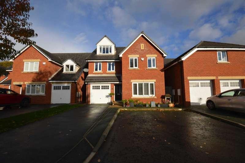 5 Bedrooms Detached House for sale in Edward Manton Close, Higher Bebington